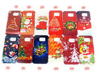 Christmas Plastic Case Back Protect Cover For Samsung S6