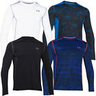2015 Under Armour HG Raid LongSleeve Training T-Shirt Mens Sports Gym Tee-Fitted