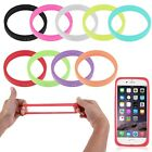 Fluorescent Soft Silicone Bracelet Bumper Case For Universal Mobile CellPhone