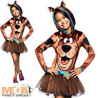 Scooby Doo Girls Fancy Dress Girls Cartoon Character Kids Costume Book Outfit