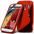 S Line Wave Gel Silicone Case Cover For Motorola Moto G2