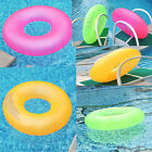 Neon Frost SWIM RING INFLATABLE POOL BEACH FLOAT RING SWIMMING TUBE WATER TOY