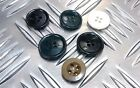Genuine Vintage British Military MOD Jacket / Trouser Plastic Buttons x 4 - Lot