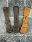 New 24mm Bell & Ross Calf Leather Strap Brown Watch Band BR-01 BR-03