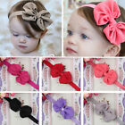 Cute Kids Girls Baby Toddler Flower Bow Headband Hair Band Headwear