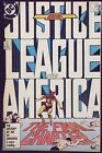 JUSTICE LEAGUE OF AMERICA #261 VF LAST ISSUE LEGENDS X-OVER