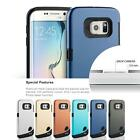 Ultra Slim Shockproof Rugged Hybrid Rubber Hard Case for Samsung Galaxy S6 Edge