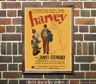 Jimmy Stewart - Harvey - Vintage Film Movie Poster [4 sizes, matte+glossy avail] $8.1 USD