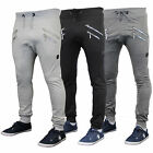 Mens Bottoms Soul Star Trousers Pants Drop Crotch Style Jogging Cuffed Winter