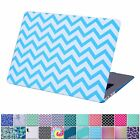 """Pattern Rubberized Hard Case Cover for MacBook Air Pro Retina 11"""" 12"""" 13"""" 15"""""""