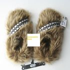 Star Wars Chewbacca Slippers Long Hair Men Man Home Cosplay Bath Slippers