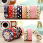 New DIY Lace Decorative Tape Home Décor Washi Fabric Cute Stickers Masking Tape