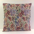 BRAND NEW WOVEN TAPESTRY CUSHION COVERS LILAC PINK FAWN GREEN SALMON COLOURED