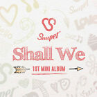 SNUPER - Shall We (1st Mini Album) CD+Booklet