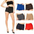 Women Sexy Retro Fashion High Waisted Rise Stretch Elastic Mini Shorts Hot Pants