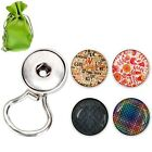 BMC 5pc Interchangeable Snap Centerpiece Eye Glass Holding Magnetic Brooch