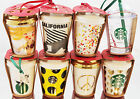 One Starbucks Christmas Holiday Ornament 2015 CHOOSE FAVORITE HTF Quantity of 1