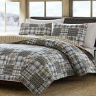 NEW NIB Eddie Bauer Cotton Quilt Set CHOOSE COLORS AND SIZES image