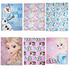 Disney Frozen Elsa Anna Olaf Fleece Childrens Kids Fleece Blanket Throw OFFICIAL