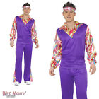 "FANCY DRESS COSTUME # ADULT 1960's 70's HIPPY MAN HIPPIE COSTUME 38""-48"""