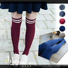 Japan Vivi liz lisa forest Kei striped uniform knee high preppie socks J3C007