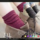 Japan lolita liz lisa fairy kei spun knit winter bubble socks J3C018
