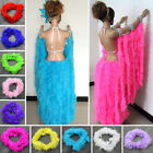 2M Marabou Feather Boa For Party Burlesque Fancy Dress Dancing Scarf Boas New