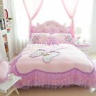 Butterfly Quilt/Duvet/Doona Cover Set New 100%Cotton Single/DS/Queen Size Linen