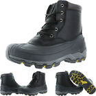 Kamik Hawksbay Men's Leather Seam Sealed Waterproof Snow Boots