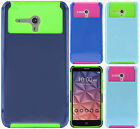 For Alcatel ONETOUCH Fierce XL NEST HYBRID HARD Case Rubber Cover + Screen Guard