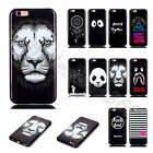 For iPhone Samsung LG Sony Lenovo Black Soft Cover TPU Silicone Rubber Gel Case