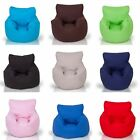 100% Cotton Beanbag Bean Bag with Filling Childrens Chair Seat Bedroom Play Room