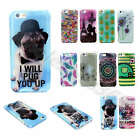 For Samsung Elephant Dog Flowers Glitter Soft TPU Silicone Rubber Gel Cover Case