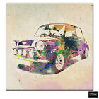 Transportation Abstract  Car Mini BOX FRAMED CANVAS ART Picture HDR 280gsm