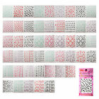 ST41-A 1 Sheet Nail Art 3D Sticker-SEBS 7-12