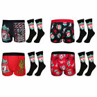 Liverpool FC Official Football Gift Mens Crest Socks & Boxer Shorts
