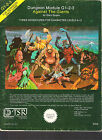 TSR ADVANCED DUNGEONS & DRAGONS G 1 2 3 & H 1 2 3 4 VGC GIANTS BLOODSTONE PASS