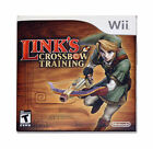 Link's Crossbow Training COMPLETE OKAY Nintendo Wii slim case