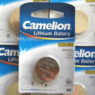 Genuine Camelion Branded CR2450 3v Lithium Coin Cell Batteries Use By Exp 2023