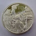 Franklin Mint Sterling Silver Mini-Ingot: 1967 Year of Racial Violence & Riots
