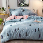 Floral Quilt/Doona/Duvet Cover Set New 100% Cotton Single/Double/Queen Size Bed