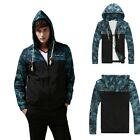 New Men's Stylish Slim Spring Coat Casual Fit Zipper Jumper Hood Jacket Outwear