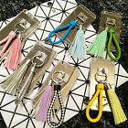 Cartoon Colorful Lovely Tassels Weave Lanyard Mobile Phone Cover For iPhone Case