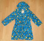 Boys Girls DESPICABLE ME MINIONS FLEECE DRESSING GOWN ROBE Kids Age 4-5 years