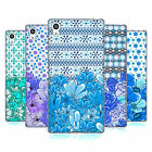 HEAD CASE DESIGNS BLU FLOREALE COVER MORBIDA IN GEL PER SONY TELEFONI 2
