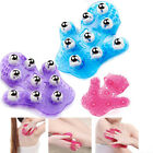 Hand-held 9 Stainless Steel Rolling Ball 360 Degree Massager Glove Body Care New