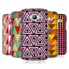 HEAD CASE DESIGNS TRIANGLES HARD BACK CASE FOR SAMSUNG PHONES 4