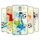 HEAD CASE DESIGNS GEOMETRIC FOOTBALL MOVES HARD BACK CASE FOR SAMSUNG PHONES 2