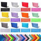 "Macbook Air 11"" Inch Rubberized Plastic Hard Shell Cover Case + Keyboard Skin"