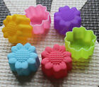 3D daisy silicone baking mold cup cake muffin jelly dessert chocolate party i
